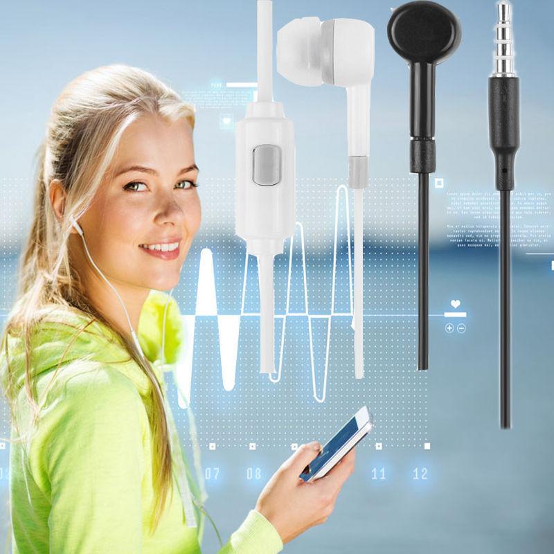 3.5mm 이어폰 스테레오 이어 버드 이어폰 헤드셋 마이크, 샤오 미 삼성