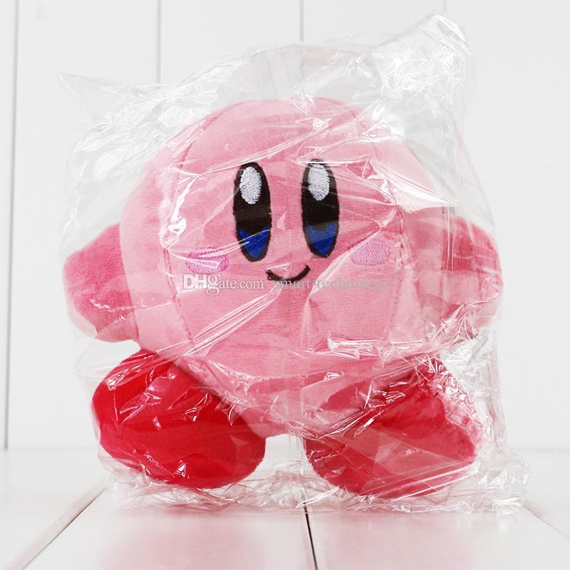 Nouveau Hot 13cm Anime Lovely Kirby Doll Plush Soft Stuffed Doll Toy pour enfants cadeau livraison gratuite