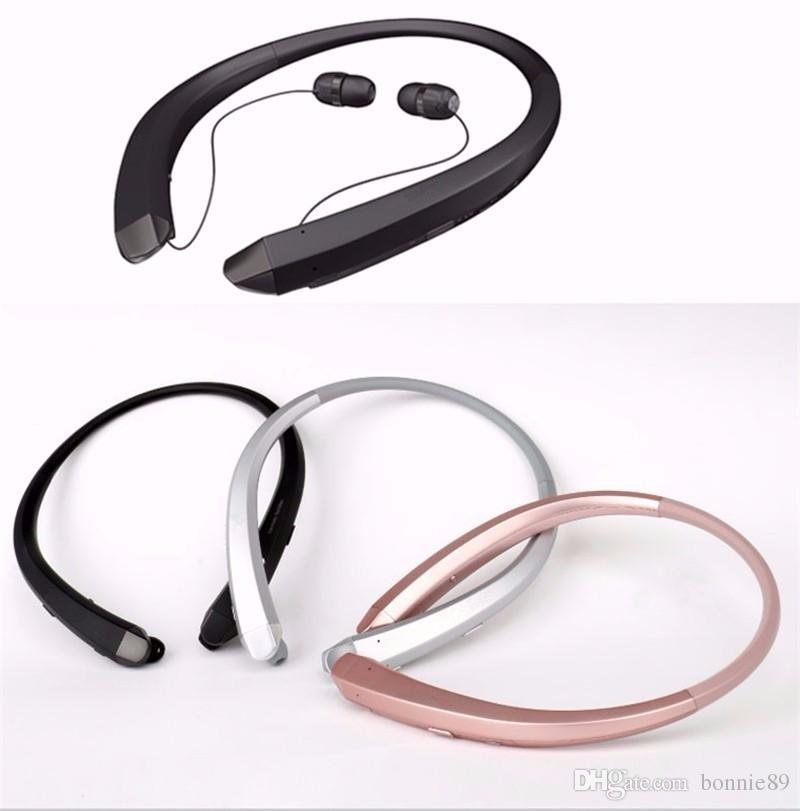 New HBS-910 Neckband Style Earphone Handsfree In-Ear Auricular Tone Stereo Wireless Bluetooth Sports Headset for All Phone