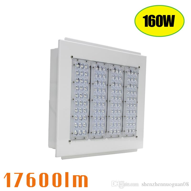 Retrofit LED Canopy Light 160W Area Flood Light Fixtures 17600lm 100-277V for Gas Station Warehouse Plant Retrofit Led Canopy Light 160w Canopy Led Fixture ...  sc 1 st  DHgate.com & Retrofit LED Canopy Light 160W Area Flood Light Fixtures 17600lm ...