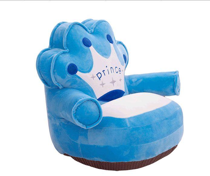 2018 Baby Plush Chair And Seat Princess Pink Kids Baby Beanbag Puff Chair  Cartoon Kawaii Cute Children Sofa Sleeping Bed Nest Lounge From Jacketcao,  ...