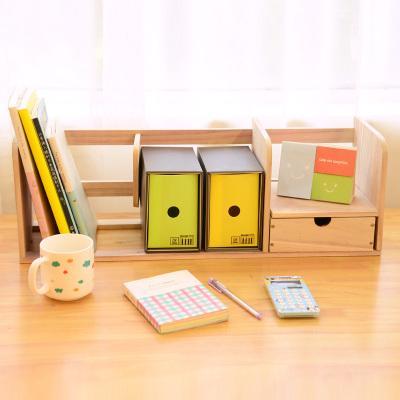 2017 Wholesale Wood Desk Book Holder Book Shelf Diy Home Office