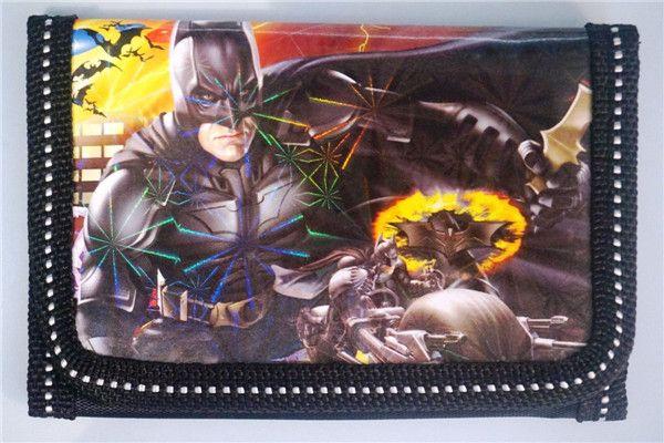 Hot! 48 stücke DC BATMAN kinder Kinder Jungen Verschiedene Strumpf Füllstoff Geldbörse Münzen Tasche Mode Geschenk