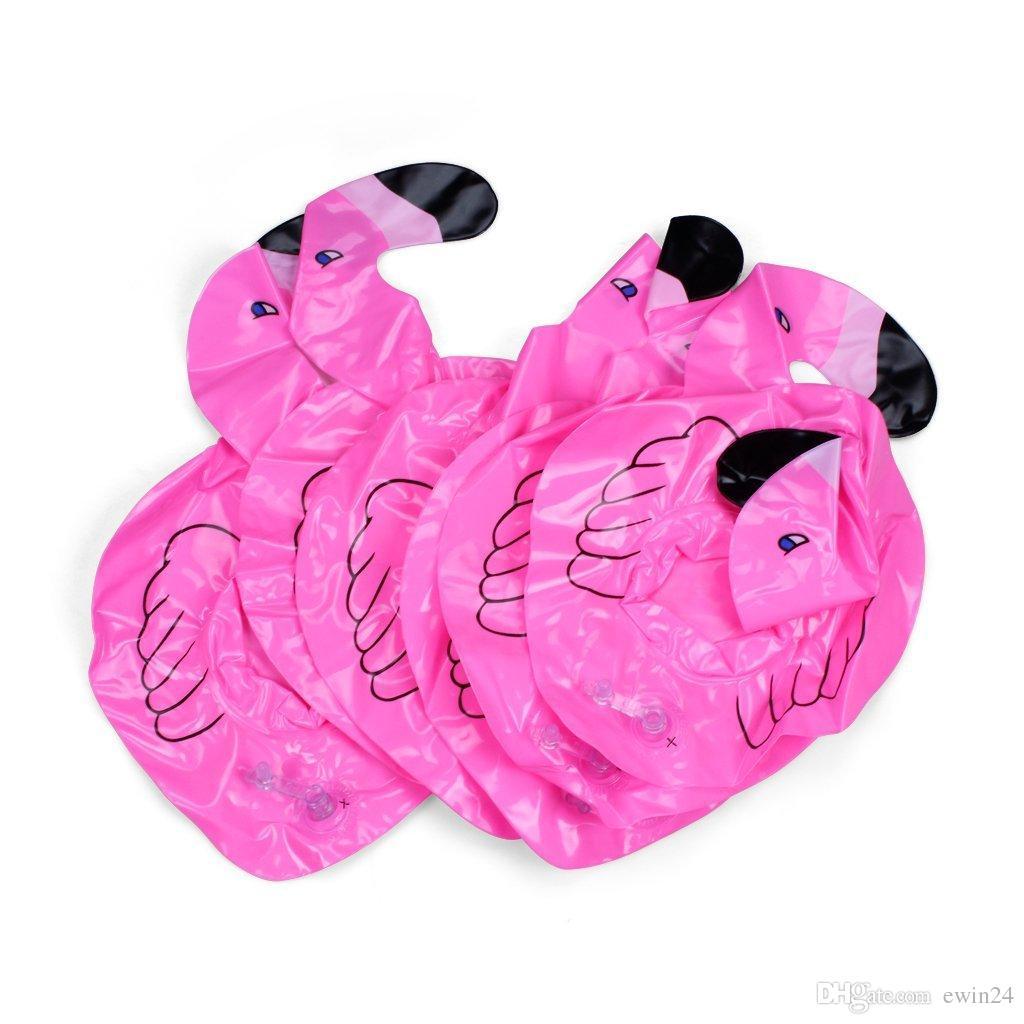 Havuz Şamandıra Eğlenceli Flamingo Şişme Havuz Oyuncak ve Bardak Tutucu Havuz partileri için Harika Banyo zamanı Içecek Tutuc ...