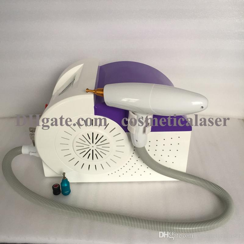 Vente en ligne en gros 1064nm / 532nm / 1320nm Q a commuté le laser ND YAG pour le détatouage