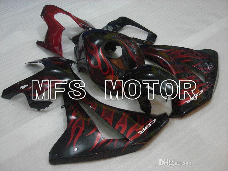 Conjunto de Carenagem Fit para 08 09 10 11 Honda CBR1000RR 2008-2011 Molde De Plástico ABS Kit De Carroçaria De Plástico Frete Grátis