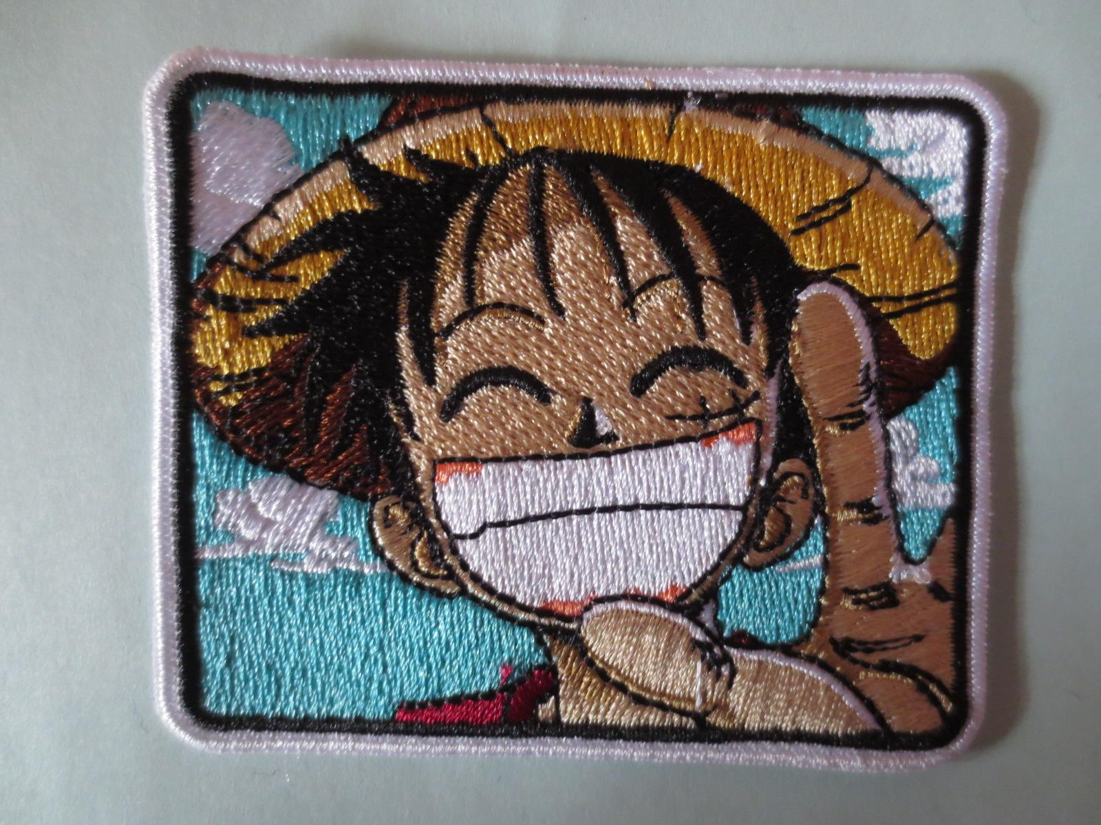 ONE PIECE embridory twill Patches for Jacket Motorcycle Biker Back Motorcycle