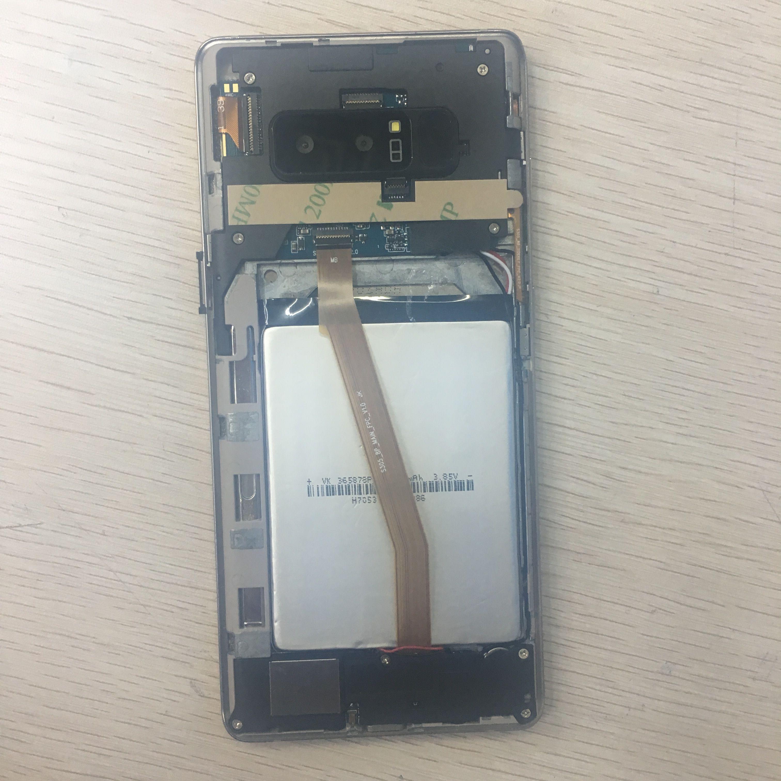 Kopieren Sie entsperrt 3G Smart Phone Note 8 6,3 Zoll Handys Note8 Android System Gefälschte 4g lte Wifi Smartphone mit Vollbild