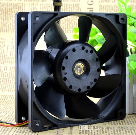 Genuine SANYO 12 cm 12V 0.52A 109R1212H1011 120*120*38 3 wire server chassis fan