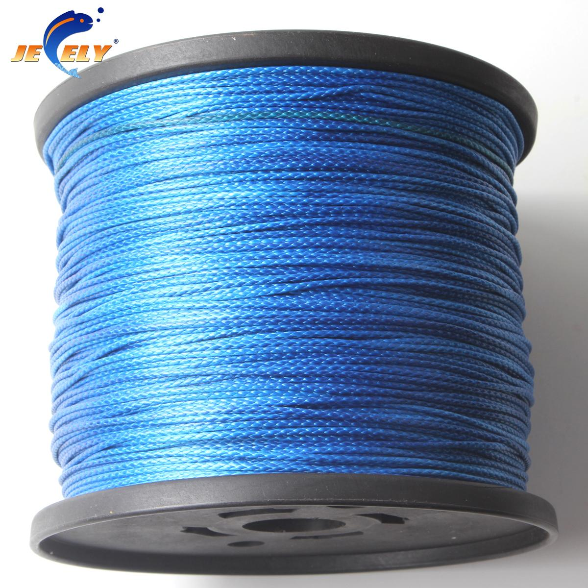 143LBS 0.8mm Towing Braided Rope UHMWPE 8 Strands 50M UHMWPE Rope ...