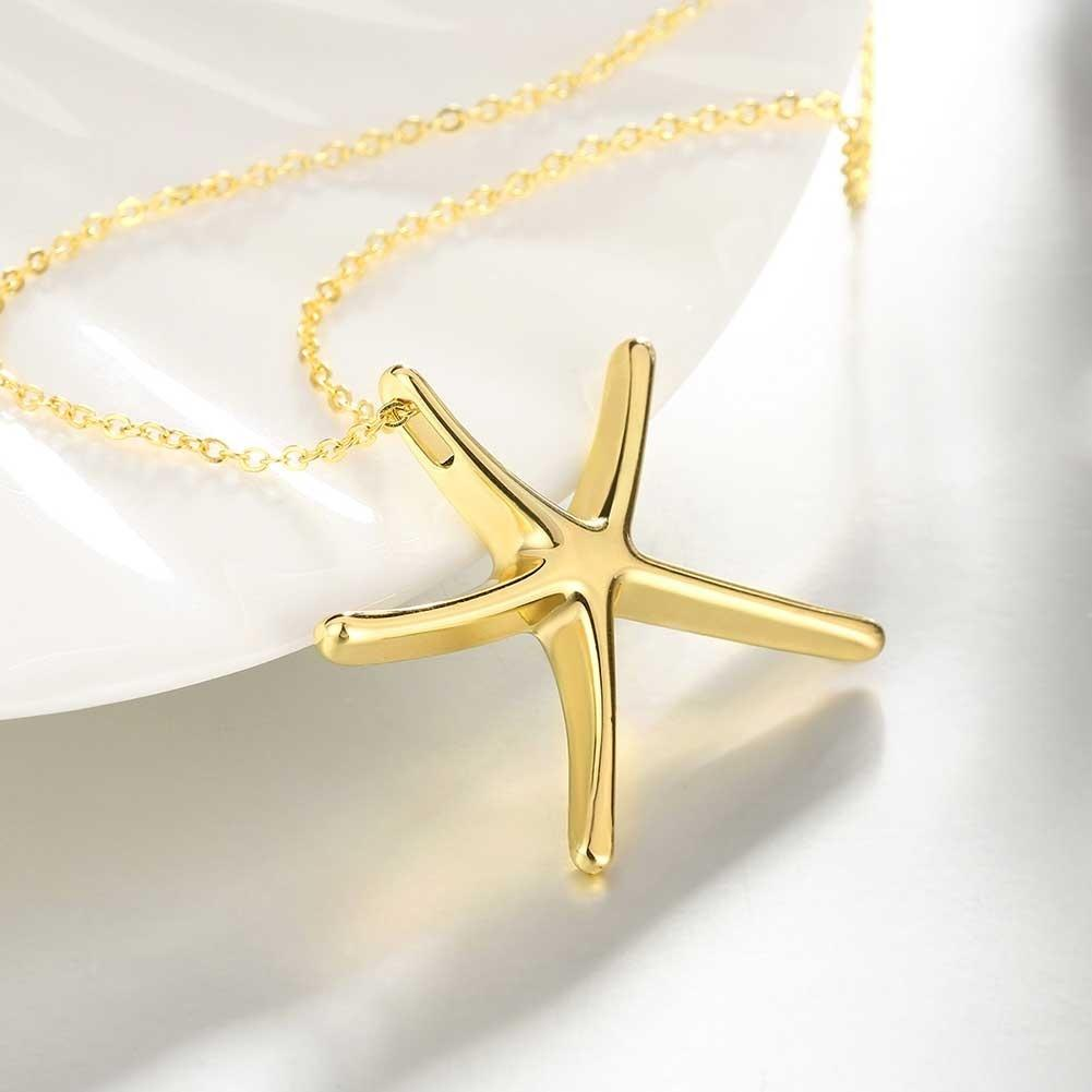 lux tone virginia star pendant of necklace p charm s state novelty accessories gold shape picture