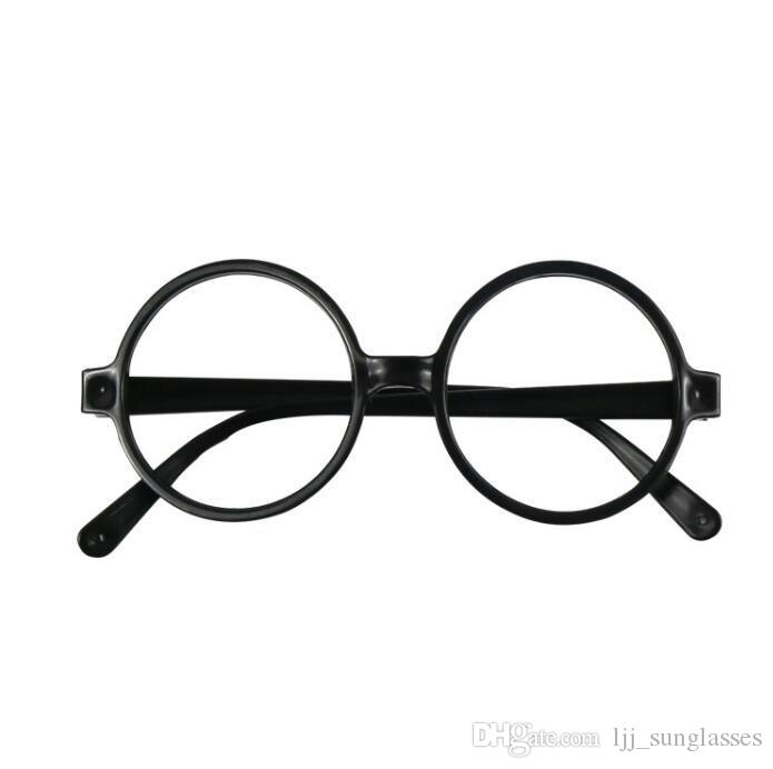 61e7013a0f 2019 Kids Harry Potter Glasses Frame BLACK ROUND Harry Potter School Boy Glasses  Frame Harry Potter Glasses Without Lenses KKA3085 From Ljj sunglasses