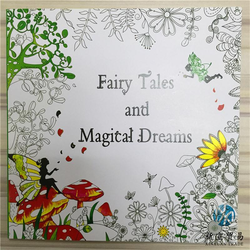 New Coloring Book Mystery Garden The Enchanted Forest Beauty And