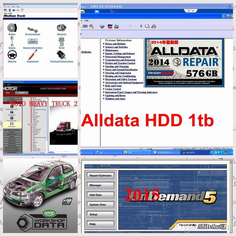 alldata mitchell repair software alldata 10 53 and mitchell on rh dhgate com Trashing Used Car Oil Trashing Used Car Oil
