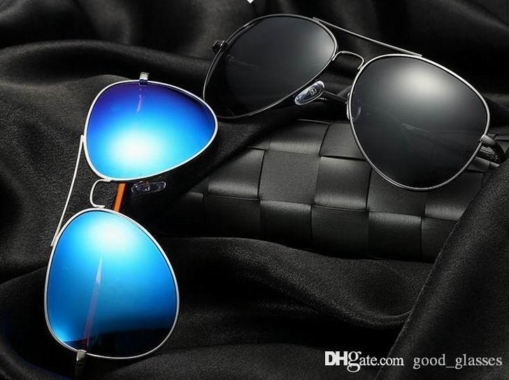 562bd07245 2018 New Polarized Pilot Sunglasses Designer Men Women 58mm UV400 Brand  Driving Eyewear Mirrored Glass Lenses Sun Glasses 325 With Case Tifosi  Sunglasses ...