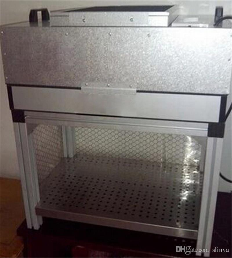 드라이 먼지 방지 방 Anti Static Room 모빌 전화 개조를위한 방진 데스크 LCD Glass OCA Laminating Machine