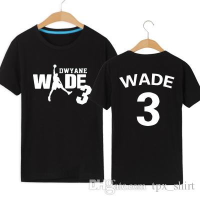 f54768a03 The Flash T Shirt Dwyane Wade Short Sleeve Gown Basketball Sport Tees  Leisure Unisex Clothing Quality Cotton Tshirt T Shirt Sale Cool Shirt  Designs From ...