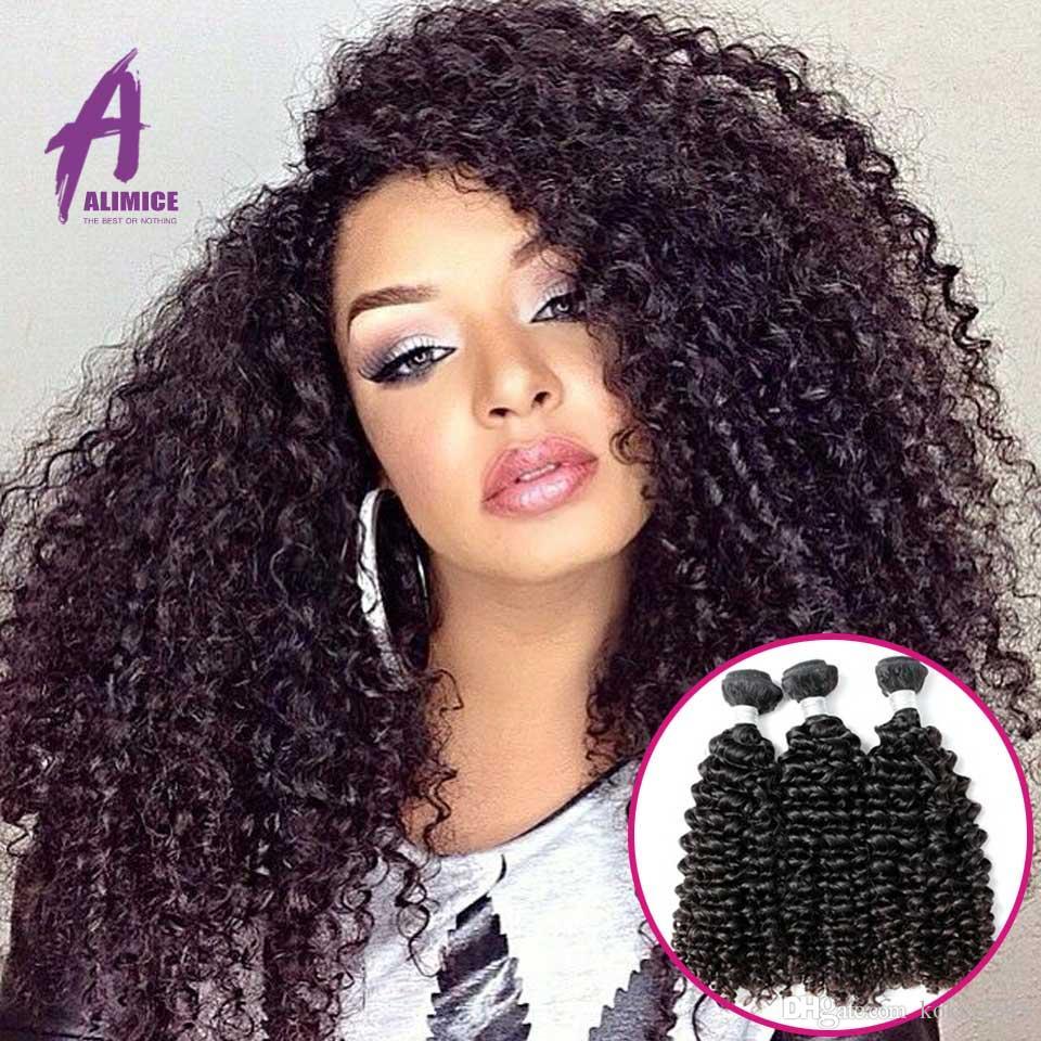 Rosa 7a Raw Virgin Brazilian Curly Hair 3 Bundles Of Brazilian Curly
