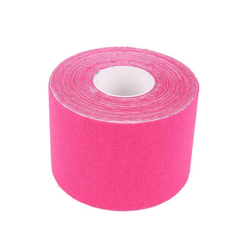 Cinta muscular cinta de deportes cinta de kinesiología algodón elástico adhesivo vendaje muscular cuidado Physio esfuerzo de lesiones