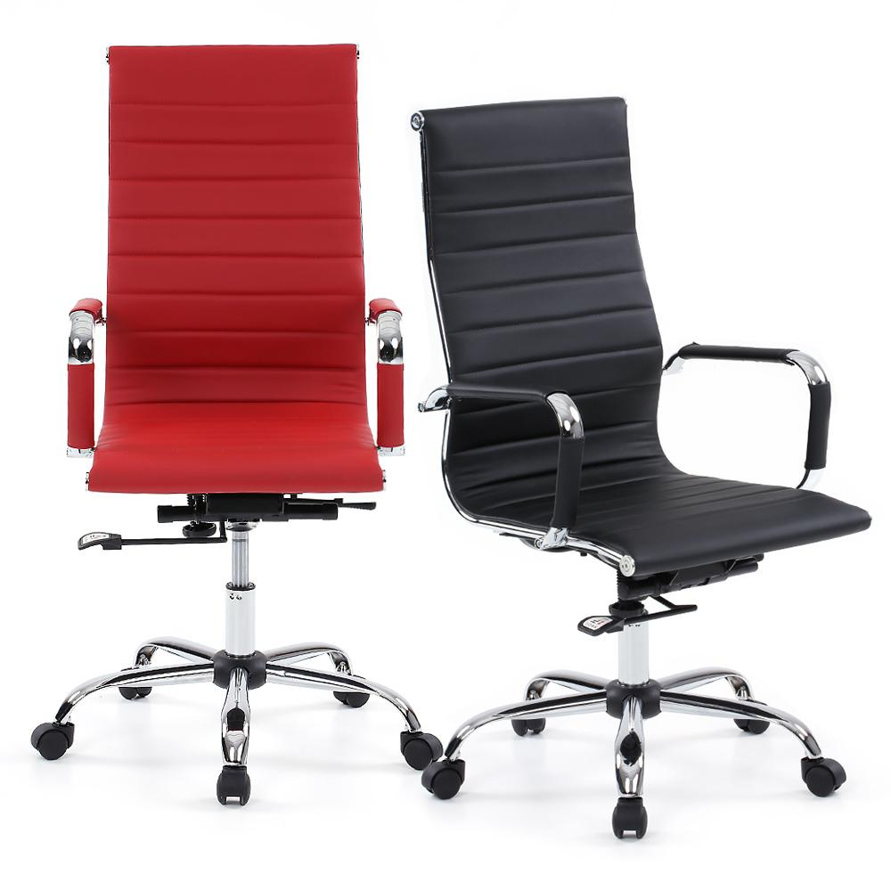 Awesome New Executive Pu Leather Office Computer Chair Black 27 Picture
