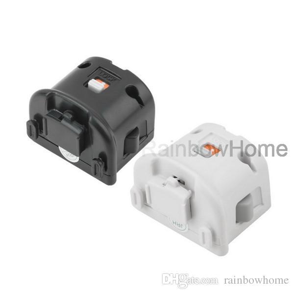 Adaptateur MotionPlus Motion Plus capteur pour télécommande Wii manette de jeu en silicone Housse de protection manches