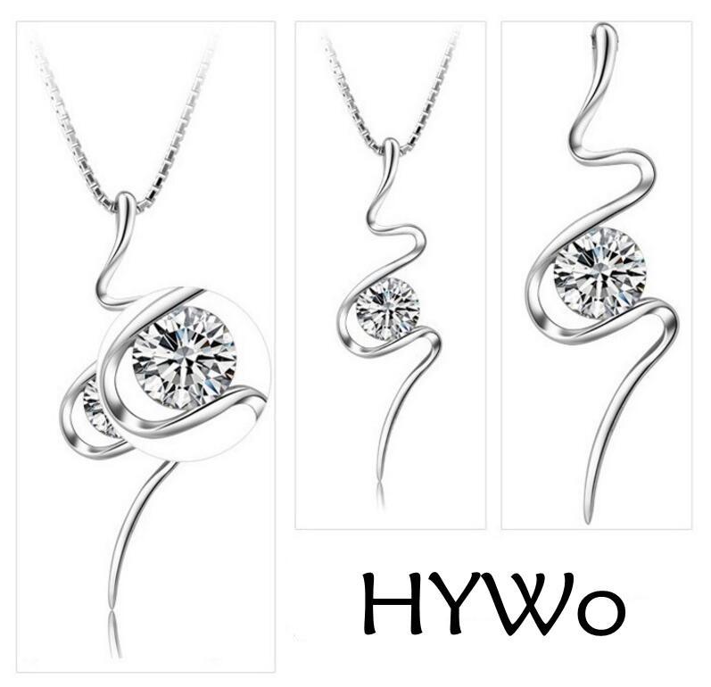 senza catena ciondolo in argento placcato gioielli di cristallo di modo caldo selvaggio selvaggia signora bella produttori di gioielli di alta qualità, all'ingrosso