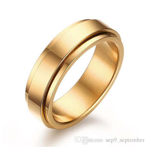 Stainless Steel Jewelry Men S Wedding Band Rings 2016 Brand New