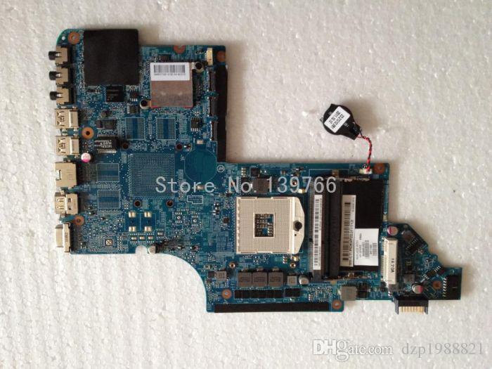 Оригинал 665993-001 для HP pavilion DV7 материнская плата с чипсетом intel DDR3 HM65