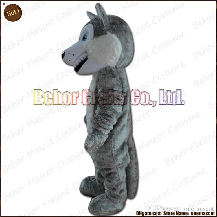 Wolf dog mascot costume EMS cheap high quality carnival party Fancy plush walking Huskies mascot adult size.