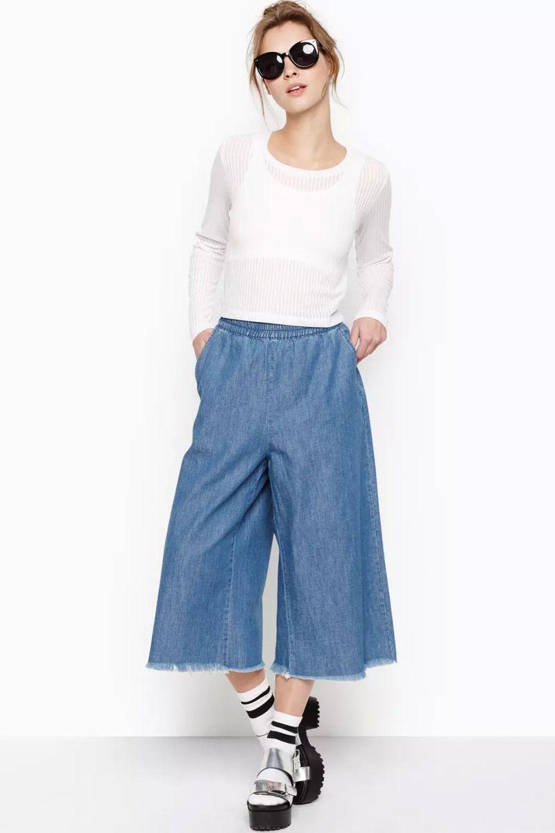 2017 European Femininas Stylish Retro Cropped Jeans Capris Ladies ...