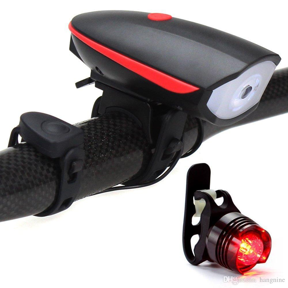 Bicycle USB charging front lamp rear lamp set front lamp with speaker bike and jewel taillight
