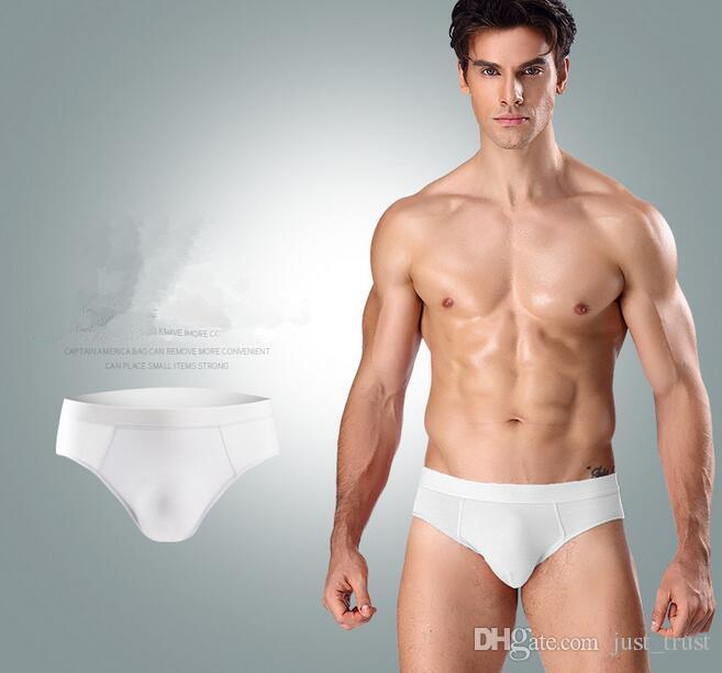 DHl Free Sexy Active Sports Model Breathable mesh men's Bikini brifes underpants Big soft U Design bulge Ice silk Bump Men's Underwear