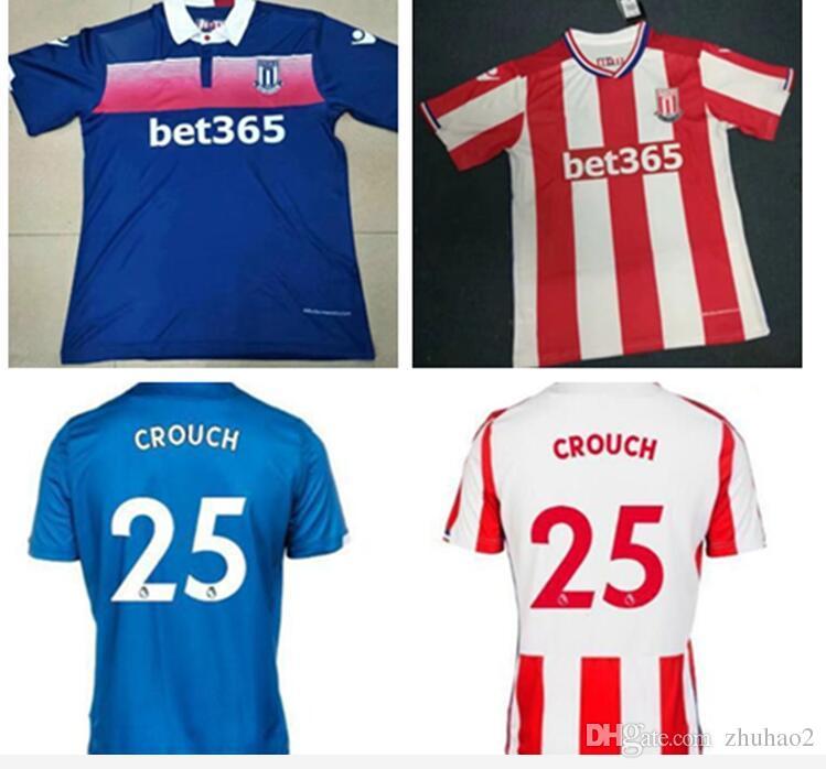 4db3c9b00 2019 217 2018 Stoke City Home Away Soccer JerseyS 17 18 SHAQIRI ...