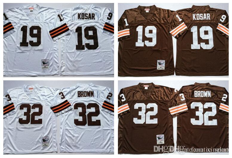 finest selection c7a29 eb709 19 bernie kosar jersey browns