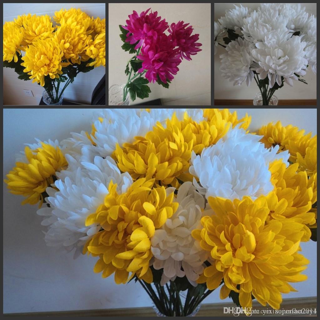 Silk Hydrangea Flower Ball Decorateive Flower Real Touch Artificial