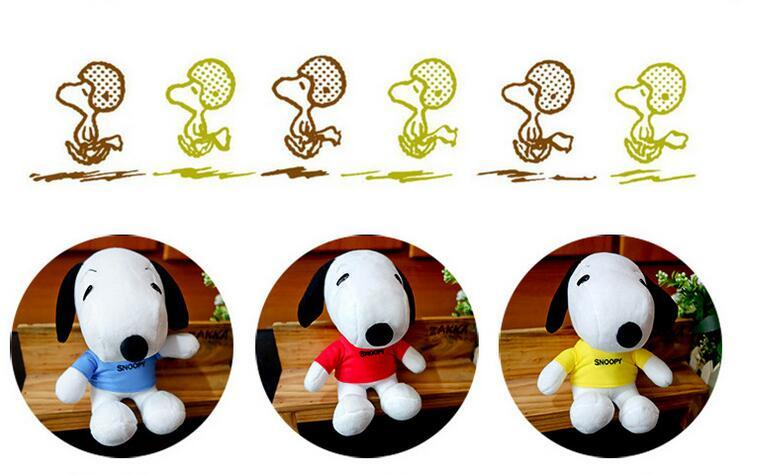 20CM Hot Sell new paragraph and creative Child Plush Dolls Snoopy plush toy Dog doll Gift
