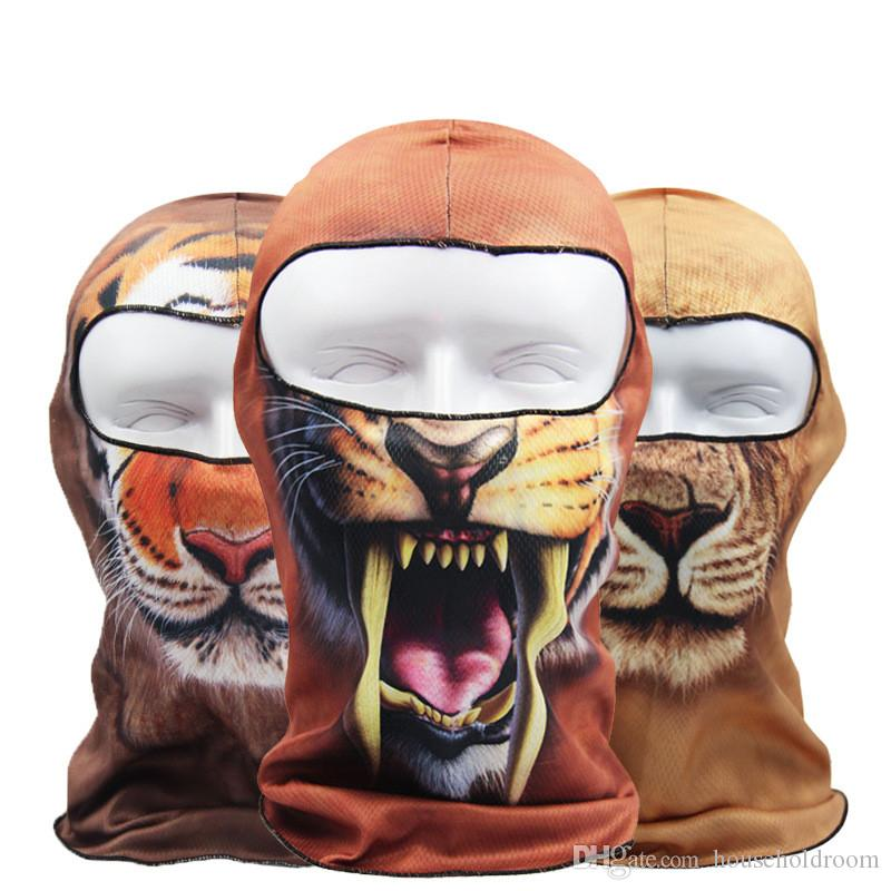 88bf7589b53 Halloween Fase Mask Outdoor Sports Sandproof Windproof Mask 3D ...