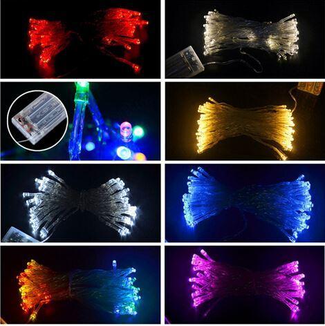 christmas lighting battery operated led fairy light 2m 20leds string flexible tape lamp outdoor garden light in multi led battery string lights led string