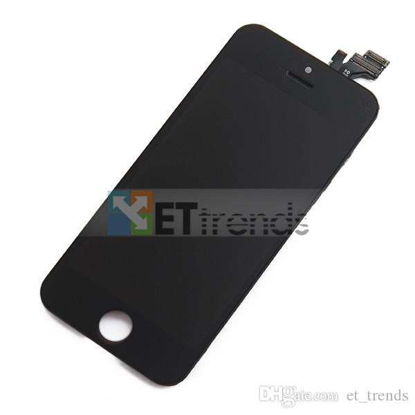 Display for iPhone 5 5s 5c SE Lcd Screen Assembly Factory Directly Supply No Dead Pixel Cold Press Frame Wholesale