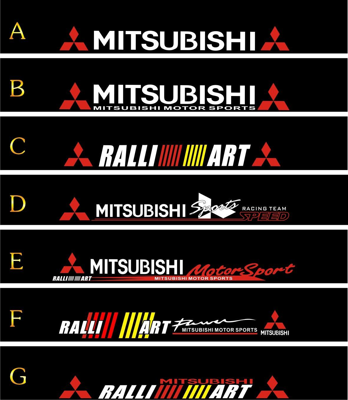 Ug Front Stop Stickers Lancer Mitsubishi V3 Before And