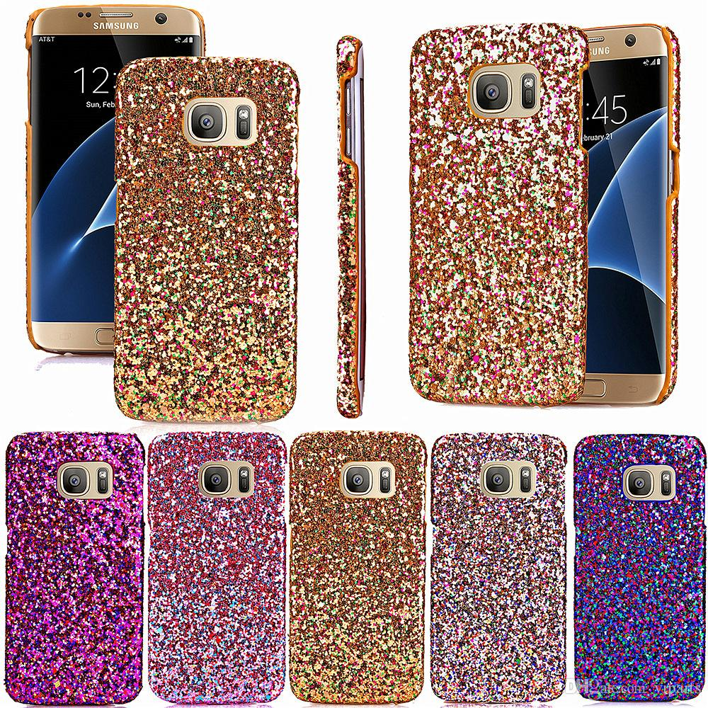 custodia samsung s6 edge plus glitter