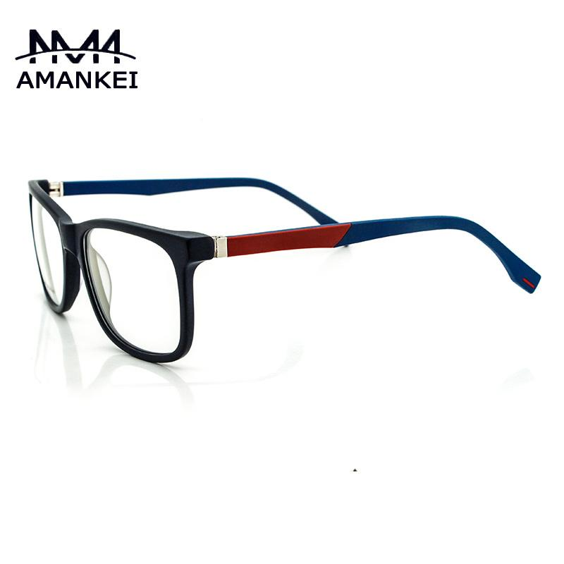 aff832586bb 2019 Wholesale Brand Eye Glasses Men S Optical Black Eyewear Online  Cosmetic Korean Glasses Frames Acetate Vintage Clear Glasses Modern Style  From ...