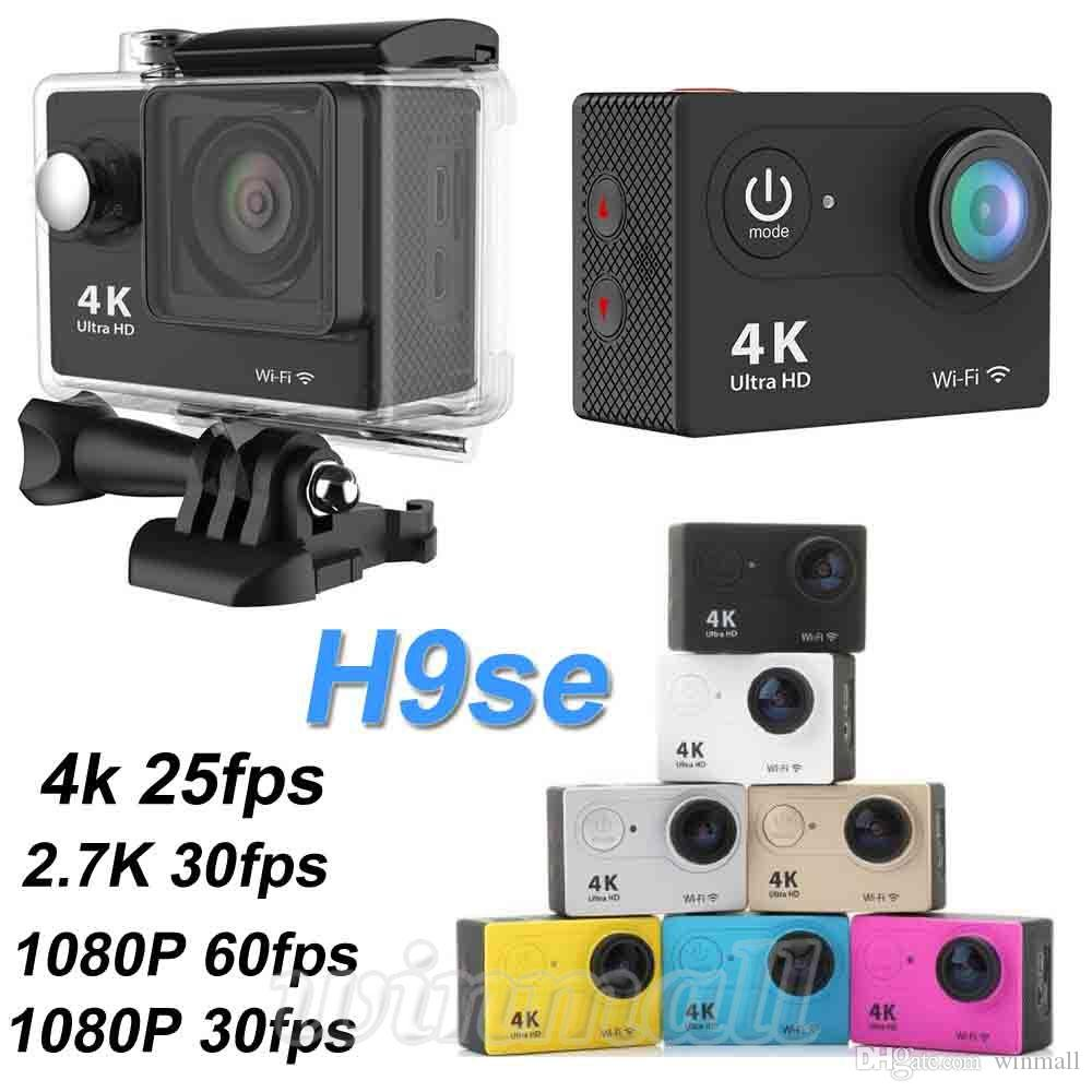 EKEN H9se 4K Action Camera Wifi 2 inch LCD 30M Waterproof 12MP 1080P 60fps Sports DV Helmet Cam