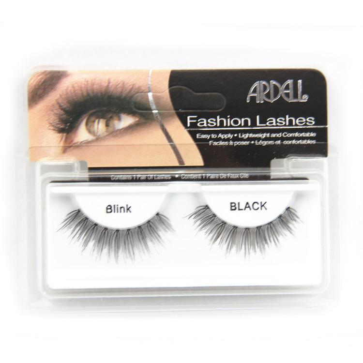 False Eyelashes Handmade Natural Long Thick Eyelash Fake Eye Lash extensions Blink Black Terrier Strip Fashion Lashes ARDEL Easy To Apply