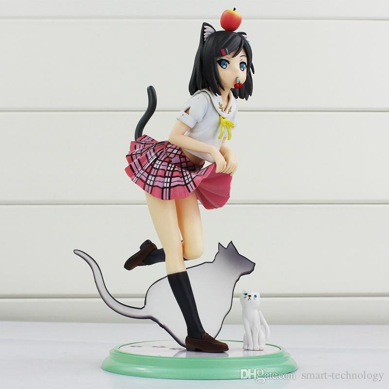 Anime Kotobukiya Perverser Prinz und nicht lachende Katze versteckter Fassmonat PVC-Tätigkeits-Abbildung vorbildliches Toy action figure geben Verschiffen frei en gros