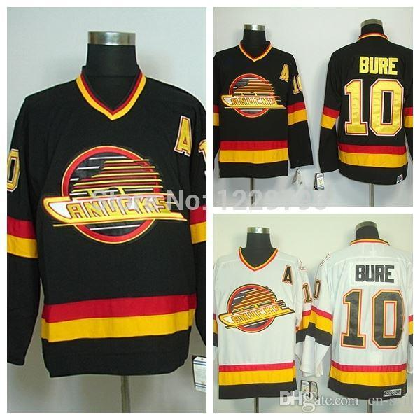 bd8faa06730 ... ccm coupon code for mens vancouver canucks hockey jerseys throwback 10  pavel bure jersey home black vintage ...