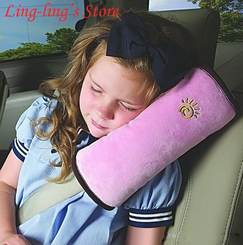 Freies Verschiffen Baby Auto Kissen Auto Sicherheitsgurt Schützen Schulterpolster Einstellen Fahrzeugsitz 5 Farben Gurt Kissen für Kinder Kinder