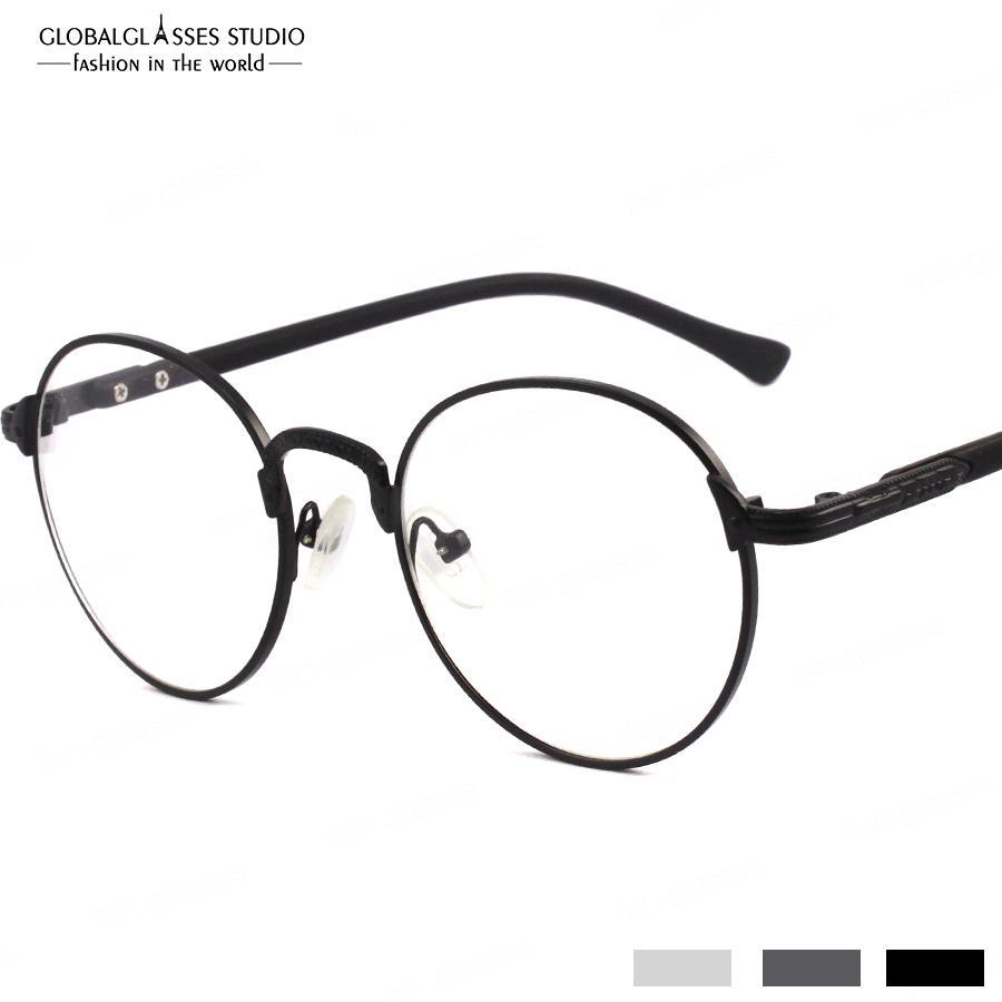 Prescription Available Glasses Cool Round Vintage Retro Style Metal ...