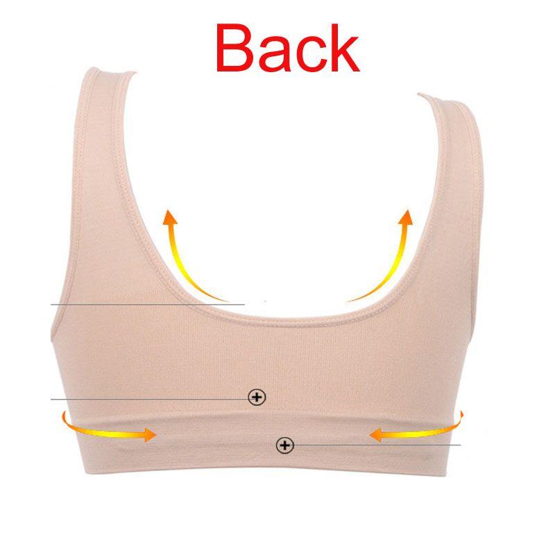 Fashion bra with removable bra pads two layer Genie Bra women sport bra seamless sport bra women push up