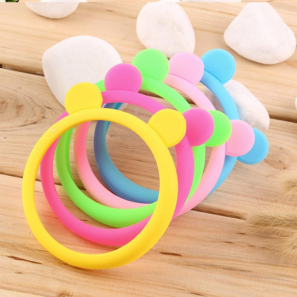 Universal silicone cell mobile phone border Fluorescent Bumper protection cover luminous silicon bracelet Case for iphone for Samsung sony